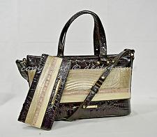 Brahmin N70982 Mini Asher Sterling Kapoor Genuine Leather Satchel
