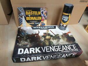 Warhammer 40k dark vengeance (deutsch/unbemalt/unbebaut) + Farbset + Werkzeug