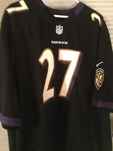 RAY RICE NFL GAME JERSEY BRAND NEW BLACK SIZES AVAILABLE SM,MD,LG,,XL &,XXLG
