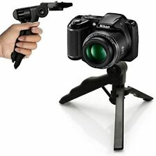 Mini Pistol Grip Tripod Stand Hand Stabiliser Tabletop Travel Holder Universal