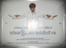 Missy Elliott So Addictive, Elektra promotional poster, 2001, 18x24, Ex, hip-hop