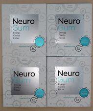 NeuroGum Smart Gum 4 packs 36 pieces:Fuel Your Body Activate Your Mind Neuro Gum