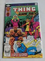 Marvel Two-In-One #89 July 1982 Marvel Comics THE THING Human Torch