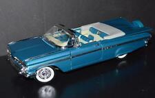 Road Legends 1/18 Car 1959 Chevrolet Impala Convertible #92118/9 Blue Metallic