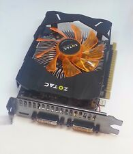 Zotac GTX 650Ti 1GB 128BIT DDR5. (288-3N228-102ZT) PCI-Express Graphics Card