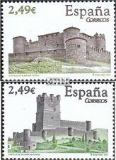 Spanje 4254-4255 (compleet Kwestie) gestempeld 2007 Kastelen