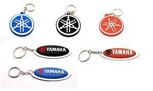 Yamaha white and blue Keyring