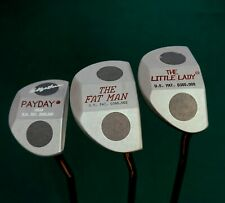 Set Of 3 Bobby Grace Payday The Fat Man & The Little Lady Putters & Head Covers