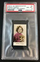 1935 Bridgewater Film Stars 4th Series #6 Shirley Temple PSA 8 Nr-Mt to Mint