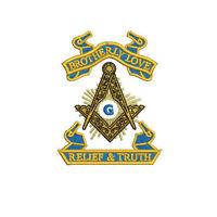 Masonic Freemason Compass and Square Embroidered Polo Shirt