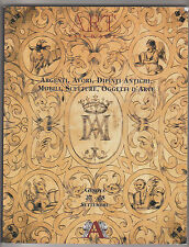 Art casa d'aste: argenti, avori, dipinti antichi, mobili, sculture... catalogo