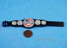 WWE Wrestling Wrestler Figure Heavy Weight World Life USA Champion Belt