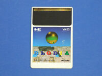 NEC PC-Engine Hu-Card BLODIA Card Only Import JP