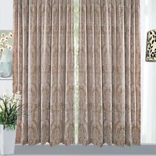 Unbranded Floral Curtains with Pencil Pleat
