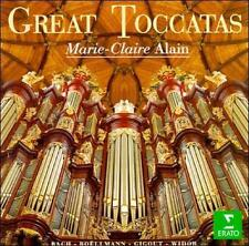 MARIE-CLAIRE ALAIN - Great Toccatas - Organ-CD -Brand new. Sealed. RARE