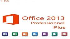 Microsoft Office 2013 Professional Plus 1 PC für 32/64 Bit Vollversion Deutsch