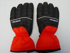 New Reusch Winter Ski Gloves Adult Medium 8.5 4201161S Black & True Red SAMPLES