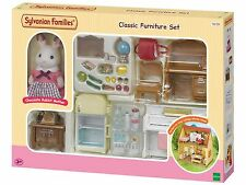 Sylvanian Families Classic Furniture Set for Cosy Cottage Starter Home