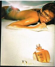 Publicité Advertising 2001 Eau de Toilette Dune de Dior