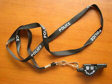 13's series China Police Whistle and Lanyards,Set.