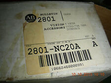 Allen Bradley 15 Pin Monitor Cable   2801-NC20A