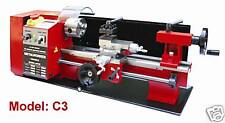 "Sieg C3 -14""x7"" (350x180mm) Variable Speed  Metal Lathe W/ Auto-Feed & Speed DRO"