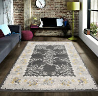 Msrugs Zara Collection Contemporary Transitional Beige Brown Area Rug