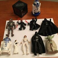 Lot Of Vintage + Modern Kenner Applause Star Wars Action Figures Toys