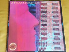 """LP """"A FLOCK OF SEAGULLS - LISTEN"""""""
