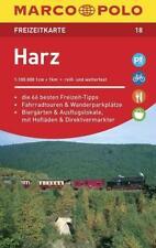 MARCO POLO Freizeitkarte 18 Harz 1 : 100 000 - 9783829743181