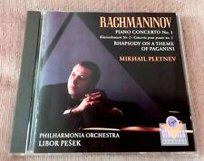 RACHMANINOV - PIANO CONCERTO 1 & PAGANINI VARIATIONS [Pletnev/Pesek]