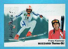 Klammer Franz               1-5/0203