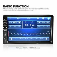 "7"" 2 din Coche Multimedia Fm Radio Pantalla Táctil LCD MP5 Jugador Wireless SD"