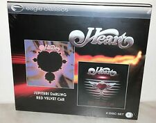 2 CD HEART - JUPITERS DARLING / RED VELVET CAR - SEALED - SIGILLATO