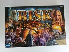 RISK Lord Of The Rings Board Game Trilogy Edition (2003) All Here EXCEPT Ring