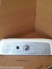 Grey and White Whirpool Cabrio Washer Control Panel W10277536