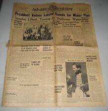 August 12 1939 Tulare CA Advance Register Newspaper USS Squalus Lifted