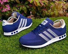 BNWB & Genuine Adidas Originals ® LA Trainer Weave Blue Retro Trainers UK Size 9