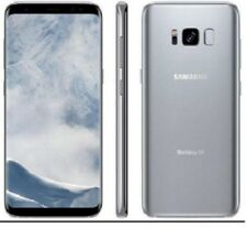 Samsung Galaxy S8 G950U G950U1 Silver Unlocked AT&T T-Mobile Cricket Great