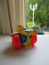 👿 Ancien Jouet Avion Fisher Price Toys Vintage Année 1980 Réf: 171