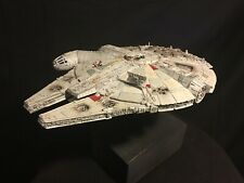 Star Wars Millennium Falcon Model - Bandai 1/144 - FULLY BUILT + LIGHTS