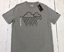 New Under Armour Raining 3's Charged Cotton Shirt Curry Grey Sz M $34