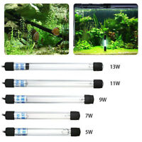 Submersible Aquarium Pond Fish Tank Light UV Sterilizer Water Clean Lamp SPE CHW