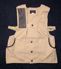 Mens VTG 1980's RED HEAD Skeet or Trap Shooting Vest! Mens Size: Small