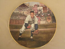 BILLY MARTIN: THE RESCUE CATCH collector plate GREAT MOMENTS IN BASEBALL