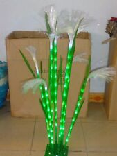 3.3FT 8 Pcs LED Reed Green Light Christmas Holiday Outdoor Indoor Home Decor NEW