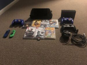 Nintendo Switch Bundle with Games and Controllers