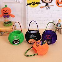 Halloween Candy Bag Packaging Party Storage Bag Cute Cartoon Handbag Kids FI