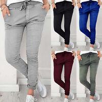 Women Stretchy Slim Fit Skinny High Waist Denim Jeggings Pants Trousers Leggings