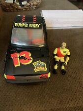 TYCO Crash Dummies - Dummy Derby Black Car 1991 Near Complete